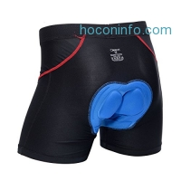 ihocon: ONGASOFT Men's 3D Padded Cycling Shorts腳踏車褲