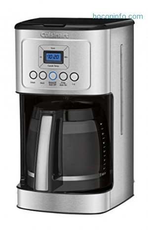 ihocon: Cuisinart DCC-3200 14-Cup Glass Carafe with Stainless Steel Handle Programmable Coffeemaker可程序咖啡機
