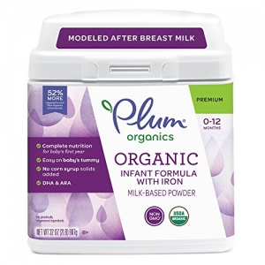 ihocon: Plum Organics, Organic Infant Formula with Iron, 32 ounce (Packaging May Vary)  有機嬰兒奶粉