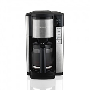 ihocon: Hamilton Beach Programmable Coffee Maker, 12 Cup 可自訂程之咖啡機