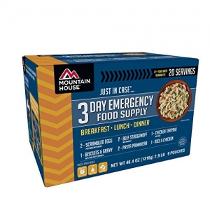 ihocon: Mountain House 3-Day Emergency Food Supply Kit 急難食物三天份