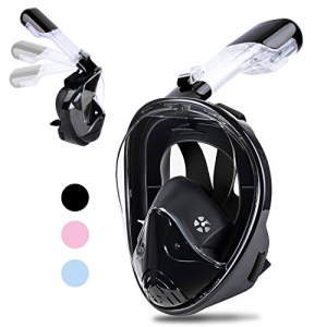 ihocon: Greatever 2018 Newest Version Snorkel Mask 全罩式浮潛面罩