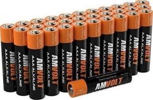 ihocon: 28 Pack AmVolt AAA 1.5 Volt Non Recharchable Alkaline Batteries鹼性電池