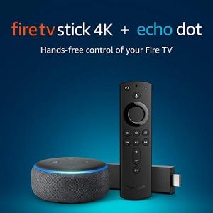 ihocon: Fire TV Stick 4K bundle with all-new Echo Dot (3rd Gen)