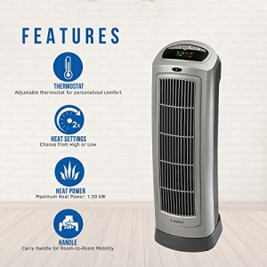 ihocon: Lasko 755320 Ceramic Space Heater遙控陶瓷電暖爐