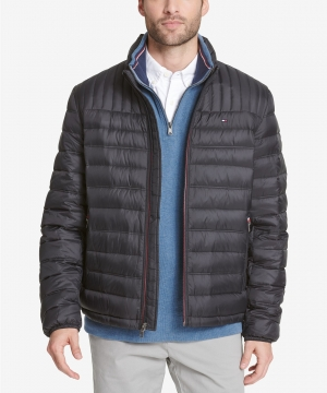 ihocon: Tommy Hilfiger Men's Down Quilted Packable Logo Jacket - 多色可選