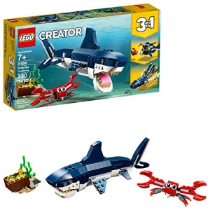 ihocon: LEGO Creator 3in1 Deep Sea Creatures 31088 Building Kit , New 2019 (230 Piece)