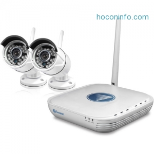 ihocon: Swann 4-Channel Outdoor Wireless 居家保全監看器
