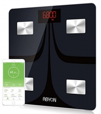 ihocon: ABYON Bluetooth Body Fat Scale - Body Composition Analyzer with Cell Phone APP智能體脂體重計