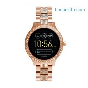 ihocon: Fossil Gen 3 Q Venture Rose Goldtone Pave Smart Watch女士智慧錶