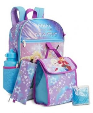 [超便宜] 5件式背包組 (背包 + 便當袋 + 水壺 + 筆袋 + 保冷袋) $15.99(原價$40)