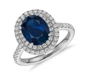 Blue Nile: Sapphire 藍寶石首飾 8折優惠