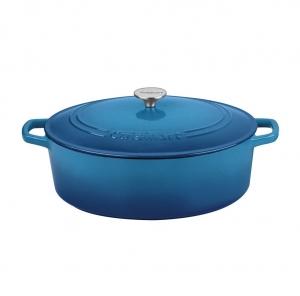 [Amazon今日特賣] Cuisinart 鑄鐵鍋 (圓鍋, 長柄鍋, 橢圓鍋) $69.99(原價$129.99)