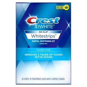 ihocon: Crest 3D White Whitestrips Classic Vivid Teeth Whitening Kit 牙齒美白貼片