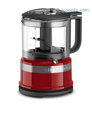 ihocon: KitchenAid KFC3516ER 3.5 Cup Mini Food Processor, Empire Red