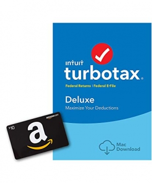 ihocon: TurboTax Deluxe 2018 Tax Software報稅軟體 + $10 Amazon Gift Card