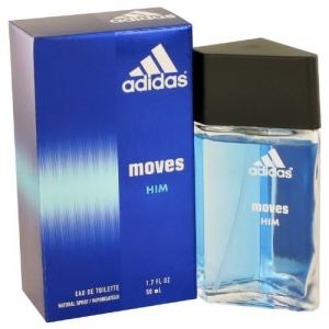 ihocon: Adidas Moves for Men Eau de Toilette Spray 1.7 oz 男士淡香水噴霧