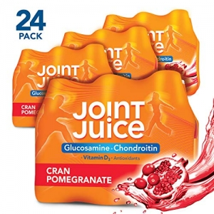 ihocon: Joint Juice Glucosamine and Chondroitin Supplement, Cranberry Pomegranate, 8 fl oz Bottle, (24 Count) 關節保養果汁