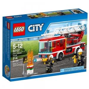 ihocon: LEGO City Fire Ladder Truck 60107 樂高城市消防梯車