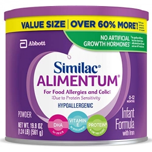 ihocon: Similac Alimentum Hypoallergenic Infant Formula for Food Allergies and Colic, 19.8 ounces, 4 Count  過敏兒嬰兒奶粉