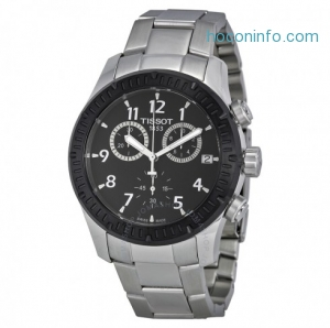 ihocon: TISSOT 天梭男錶V8 Chronograph Men's Watch, T039.417.21.057.00