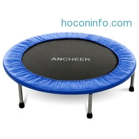 ihocon: Ancheer Max Load 220lbs Rebounder Trampoline with Safety Pad 彈跳床