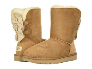 ihocon: UGG Bailey Bow Short Ruffle 女靴