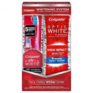 ihocon: Colgate Optic White Toothpaste and Whitening Pen 高露潔美白牙膏+美白筆