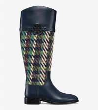 ihocon: Tory Burch MILLER RIDING BOOT, TWEED