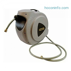 ihocon: Stanley 20M 自動收回水管 Automatic Hose Reel BDS6620