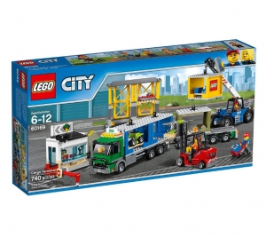 ihocon: LEGO City Town Cargo Terminal 60169 Building Kit (740 Piece) 樂高城市貨運站60169建築套件(740件)