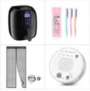 [Amazon折扣碼] 氣炸鍋,, 修眉刀, 磁性紗門, 白噪音助眠機 額外折扣!