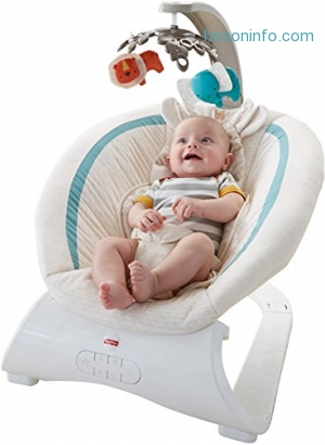 ihocon: Fisher-Price Deluxe Bouncer, Soothing Savanna