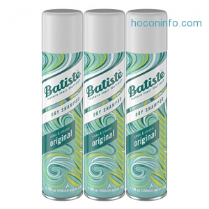 ihocon: Batiste Dry Shampoo, Original Fragrance, 3 Count
