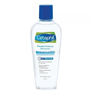 ihocon: Cetaphil Gentle Waterproof Makeup Remover, 6.0 Fluid Ounce 防水卸妝水