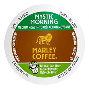 ihocon: Marley Coffee Mystic Morning, Medium Roast, Single Serve, 24 Count咖啡膠囊