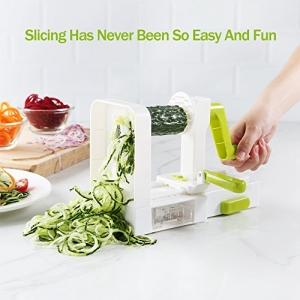 ihocon: Zanmini 5-Blade Spiralizer Vegetable Slicer蔬菜切絲/切片器-5種刀頭