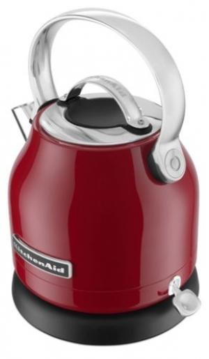ihocon: KitchenAid Stainless Steel Electric Water Tea Kettle Remvble Base RKEK1222ER Red 不銹鋼電熱水壺