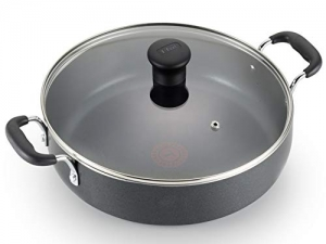 ihocon: T-fal B36282 Nonstick Deep Covered Pan, 12-Inch 含蓋不粘鍋