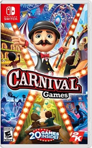 Nintendo Switch遊戲 – Carnival Games $26.01(原價$39.99, 35% Off)