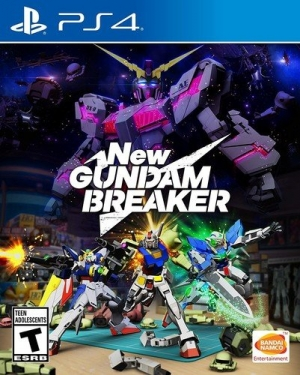 [新低價]  PlayStation 4遊戲 – New Gundam Breaker  $21.36(原價$59.99, 64% Off)
