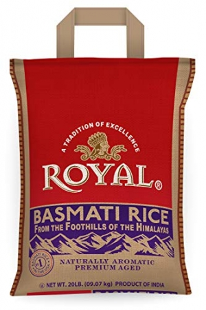 ihocon: Royal White Basmati Rice, 20 Pound 印度香米