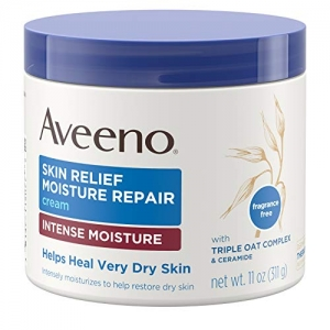 ihocon: Aveeno Skin Relief Intense Moisture Repair Cream, 11 oz深層滋潤修護霜