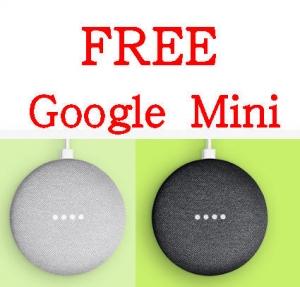 eBay: 購物$119就送免費Google Home Mini