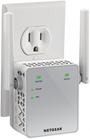 ihocon: NETGEAR WiFi Range Extender AC750 Dual Band |WiFi coverage up to 750 Mbps (EX3700) 雙頻無線網路訊號增強器