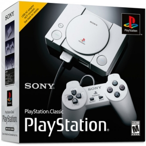 Sony PlayStation Classic Console遊戲主機 $54.99免運(原價$94.99, 42% Off)