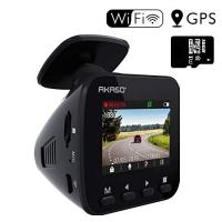 ihocon: AKASO V1 Dash Camera G-Sensor, WiFi with Phone APP, Night Vision, Loop Record, Parking Monitor, 170°Wide Angle, with 16GB Card 行車記錄器, 含記憶卡