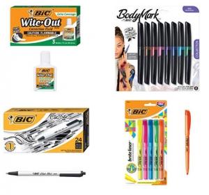 [Amazon今日特賣]  BIC各式筆及White Out 特賣