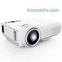 ihocon: TENKER Q5 Mini Projector 1500 Lumens 迷你投影機
