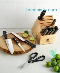 ihocon: J.A. Henckels Zwilling 15 Piece Twin Gourmet Knife Block Set